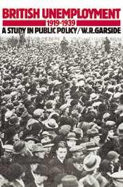British Unemployment 1919–1939