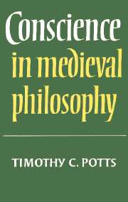 Conscience in Medieval Philosophy
