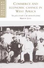 Commerce and Economic Change in West Africa