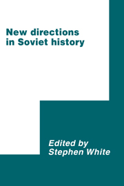 New Directions in Soviet History