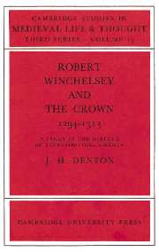 Robert Winchelsey and the Crown 1294–1313