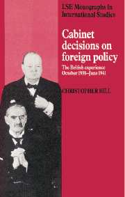 Cabinet Decisions on Foreign Policy