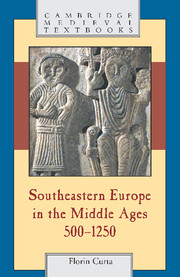 Southeastern Europe in the Middle Ages, 500–1250
