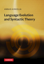 Language Evolution and Syntactic Theory