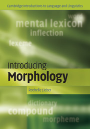 Introducing Morphology