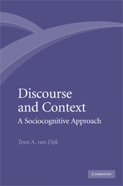 Discourse and Context
