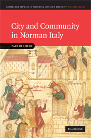 City and Community in Norman Italy