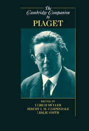 The Cambridge Companion to Piaget