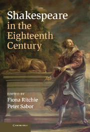 Shakespeare in the Eighteenth Century