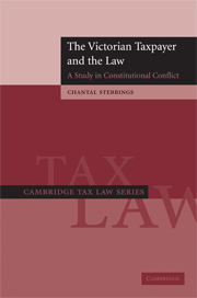 The Victorian Taxpayer and the Law
