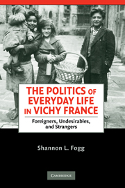The Politics of Everyday Life in Vichy France