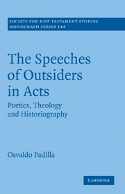 The Speeches of Outsiders in Acts