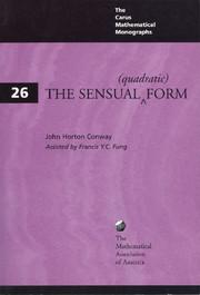 Carus Mathematical Monographs