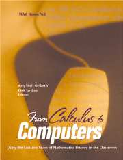 From Calculus to Computers
