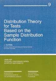 Distribution Theory for Tests Based on Sample Distribution Function