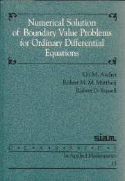 Numerical Solution of Boundary Value Problems for Ordinary Differential Equations