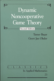 Dynamic Noncooperative Game Theory