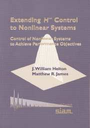 Extending H-infinity Control to Nonlinear Systems