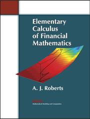 Elementary Calculus of Financial Mathematics