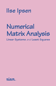 Numerical Matrix Analysis