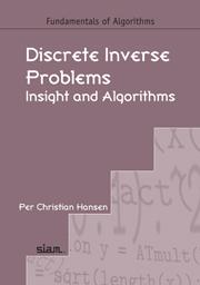 Discrete Inverse Problems