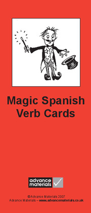 Magic Spanish Verb Cards Flashcards (8)