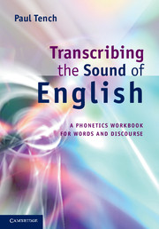 Phonetics coursebook phonetics and phonology cambridge transcribing the sound of english fandeluxe Gallery