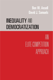 Inequality and Democratization