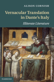 Vernacular Translation in Dante's Italy