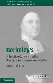 Berkeley's A Treatise Concerning the Principles of Human Knowledge