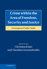 Crime within the Area of Freedom, Security and Justice