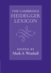 The Cambridge Heidegger Lexicon
