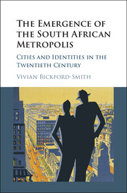 The Emergence of the South African Metropolis