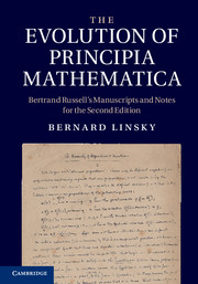 The Evolution of Principia Mathematica