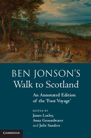 Ben Jonson's Walk to Scotland
