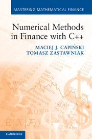 Numerical Methods in Finance with C++
