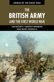 The British Army and the First World War