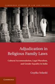 Adjudication in Religious Family Laws