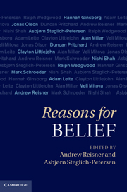 Reasons for Belief