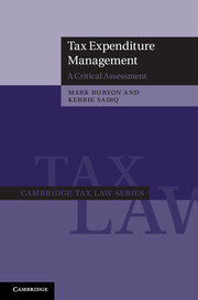 Tax Expenditure Management