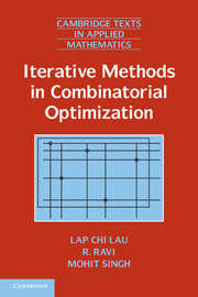 Iterative Methods in Combinatorial Optimization