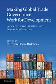 Making Global Trade Governance Work for Development