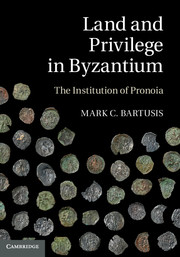 Land and Privilege in Byzantium