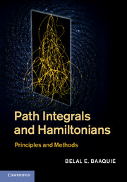 Path Integrals and Hamiltonians
