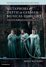 Metaphors of Depth in German Musical Thought