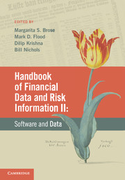Handbook of Financial Data and Risk Information II
