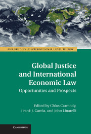 Global Justice and International Economic Law