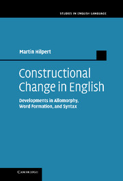 Constructional Change in English