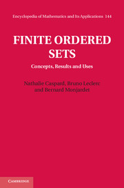 Finite Ordered Sets