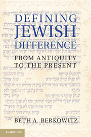 Defining Jewish Difference